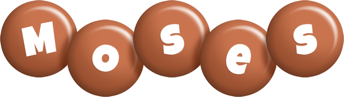Moses candy-brown logo