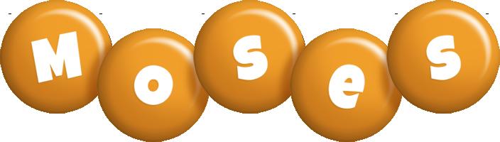 Moses candy-orange logo