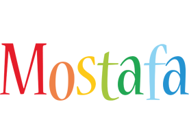Mostafa birthday logo
