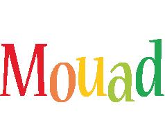 Mouad birthday logo