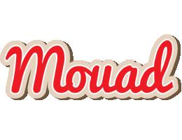 Mouad chocolate logo