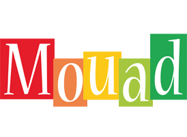 Mouad colors logo