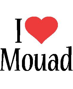 Mouad i-love logo
