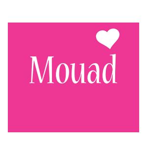 Mouad love-heart logo