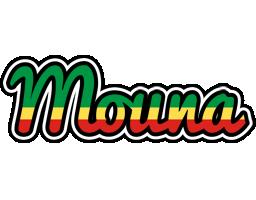 Mouna african logo