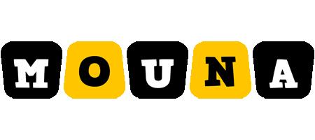 Mouna boots logo