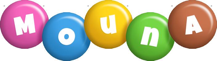 Mouna candy logo