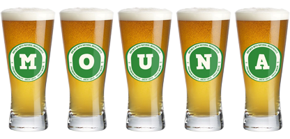 Mouna lager logo