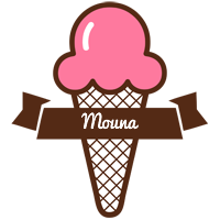 Mouna premium logo