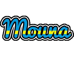 Mouna sweden logo