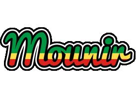 Mounir african logo