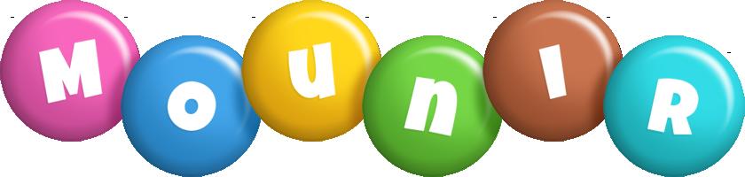 Mounir candy logo