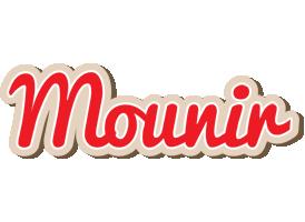 Mounir chocolate logo