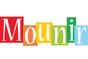 Mounir colors logo
