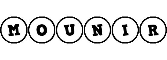 Mounir handy logo