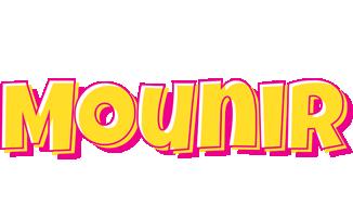 Mounir kaboom logo