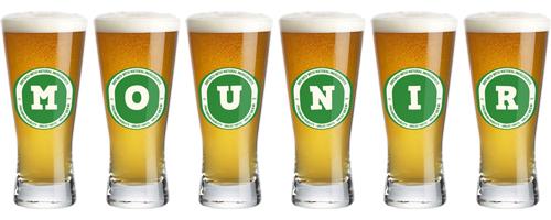 Mounir lager logo