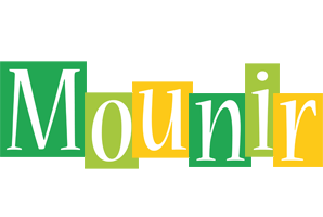 Mounir lemonade logo