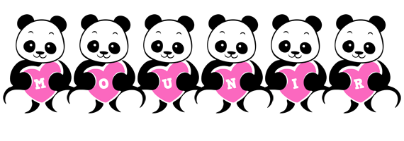 Mounir love-panda logo