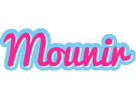 Mounir popstar logo