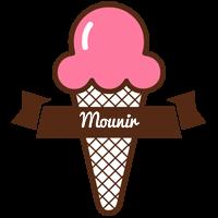 Mounir premium logo