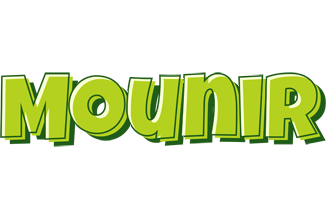 Mounir summer logo