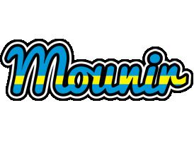 Mounir sweden logo