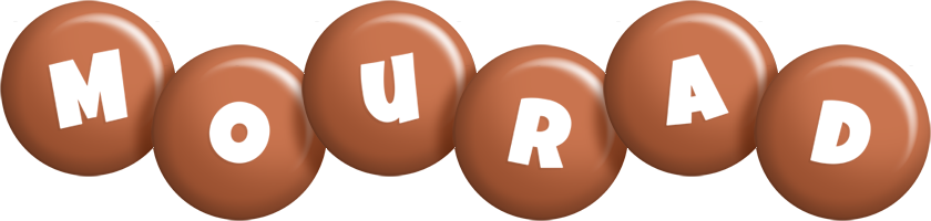 Mourad candy-brown logo