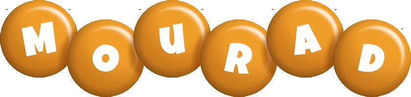 Mourad candy-orange logo
