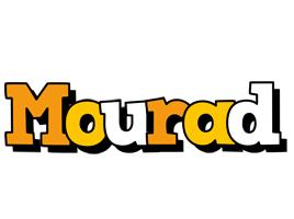Mourad cartoon logo