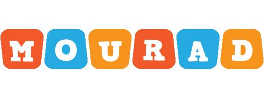 Mourad comics logo