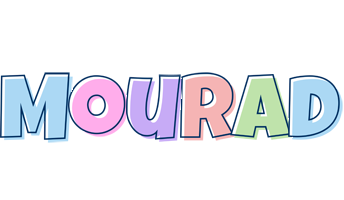 Mourad pastel logo