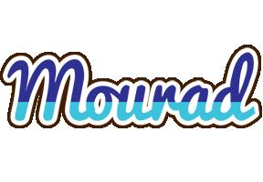 Mourad raining logo