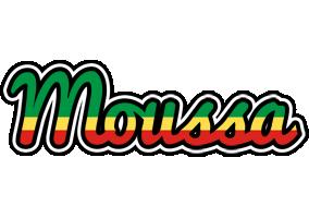 Moussa african logo
