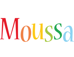 Moussa birthday logo