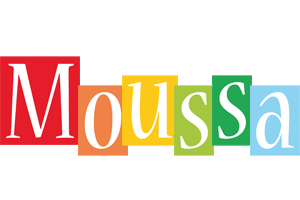 Moussa colors logo