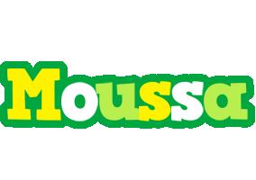 Moussa soccer logo