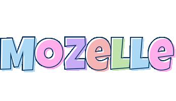 Mozelle Logo   Name Logo Generator - Candy, Pastel, Lager ...