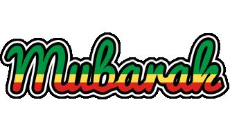Mubarak african logo