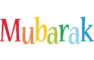 Mubarak birthday logo