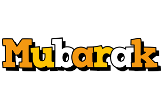 Mubarak cartoon logo