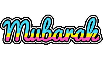 Mubarak circus logo