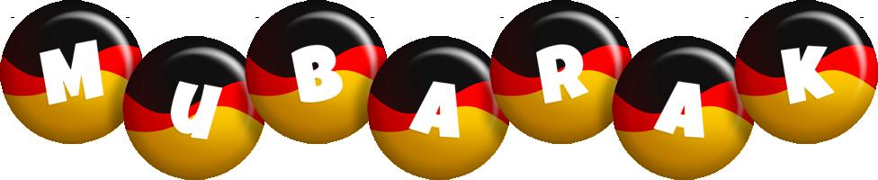 Mubarak german logo