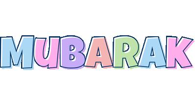 Mubarak pastel logo
