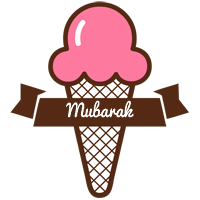 Mubarak premium logo