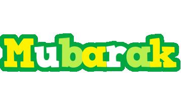 Mubarak soccer logo