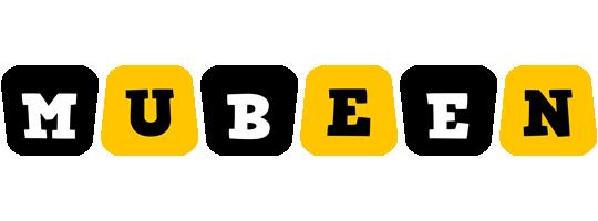 Mubeen boots logo
