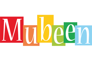 Mubeen colors logo