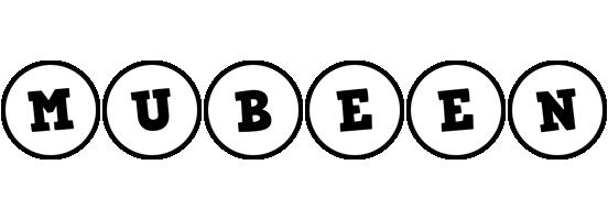 Mubeen handy logo