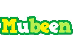 Mubeen soccer logo